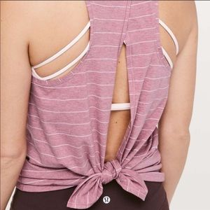 Lululemon All Tied Up Tank size 6
